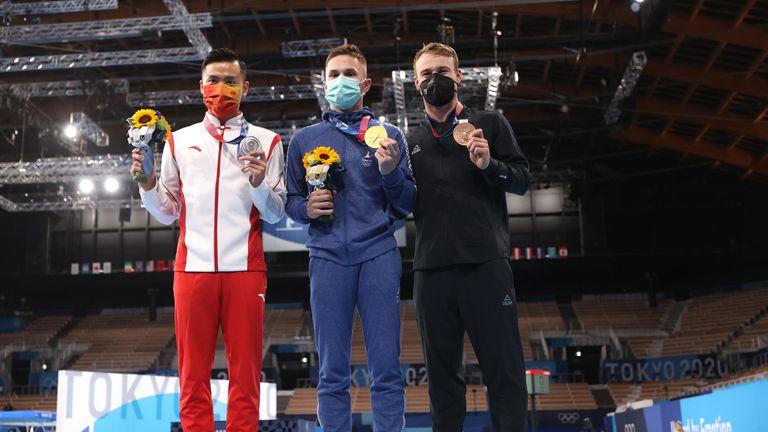 Второ поредно злато за Беларус в мъжките скокве на батут на Олимпийски игри