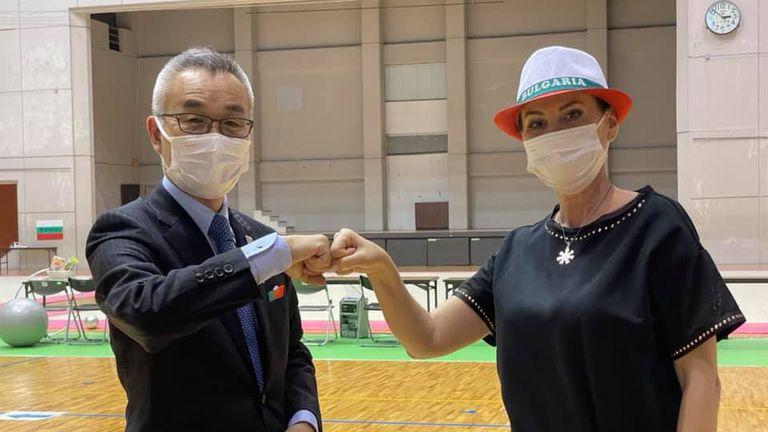 От Япония с любов: Илиана Раева с разказ за Олимпиадата