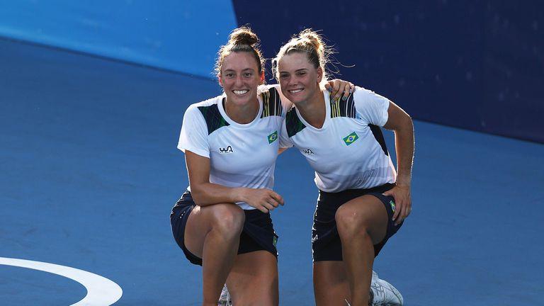 Бразилки спечелиха бронзовите медали на двойки на турнира по тенис в Токио