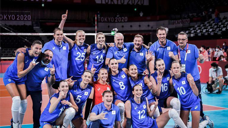 Руските волейболистки нанесоха първа загуба на САЩ в Токио🏐
