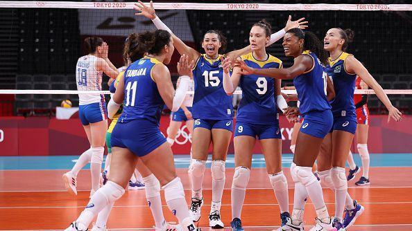 Волейбол (жени): Сърбия - Бразилия 1:3