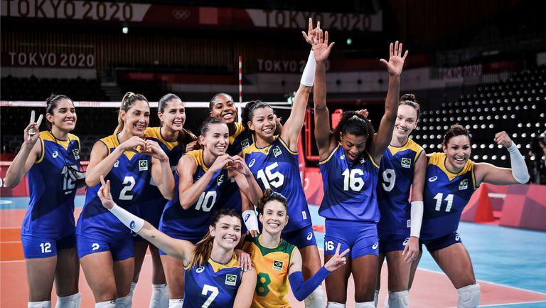 Бразилия спечели дербито със Сърбия в Токио🏐