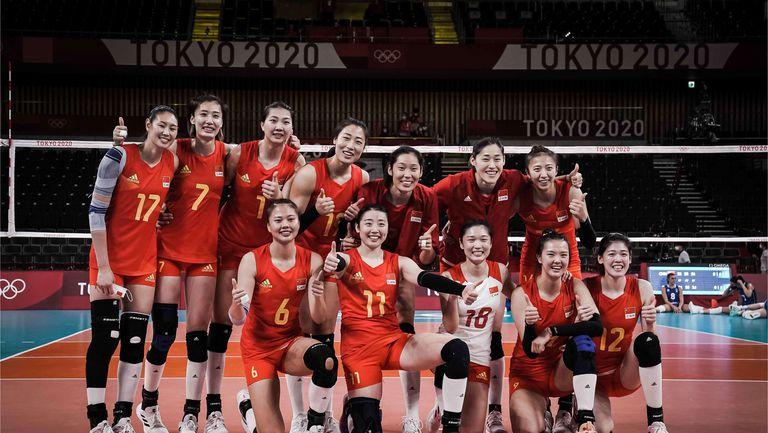 Китай с първа победа в Токио, но без шансове за 1/4-финалите🏐
