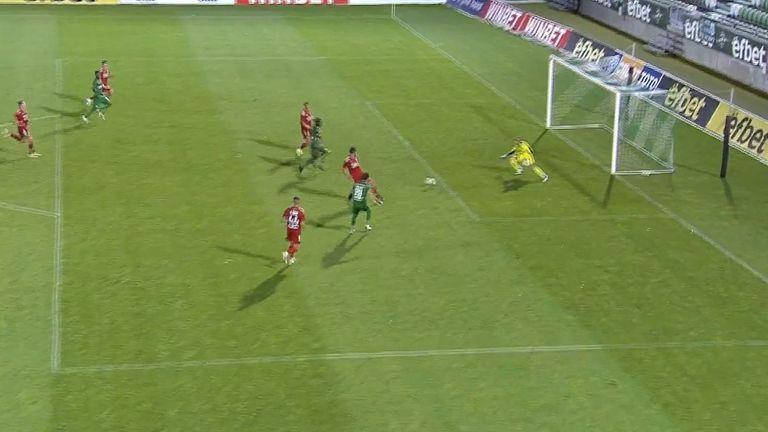 Дебютен гол на Дорин Ротариу покачи резултата за Лудогорец на 2:0