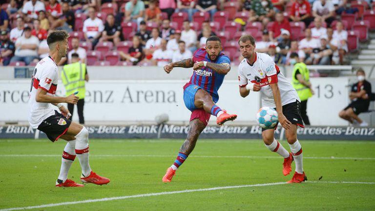 Барселона разгроми Щутгарт в контрола