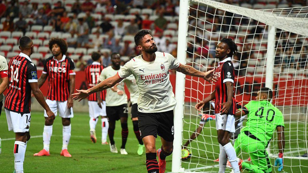Оливие Жиру дебютира с гол за Милан